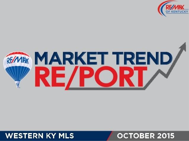 Western KY MLS October 2015 Market Trends
