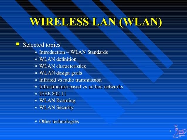Wireless LAN Technoloy