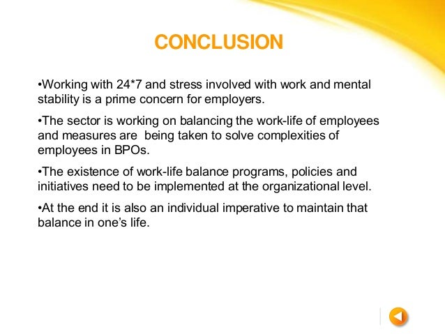 Work Life Balance Essay