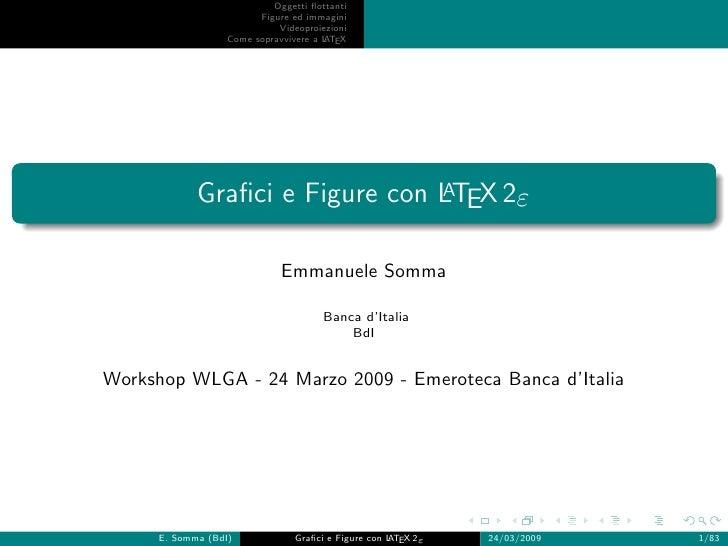 Workshop Grafica Avanzata con LaTeX