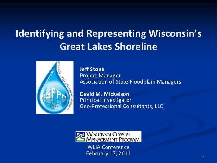 Wisconsins Great Lakes Shoreline Viewer