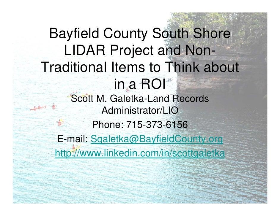 Lake Superior Coastal LIDAR