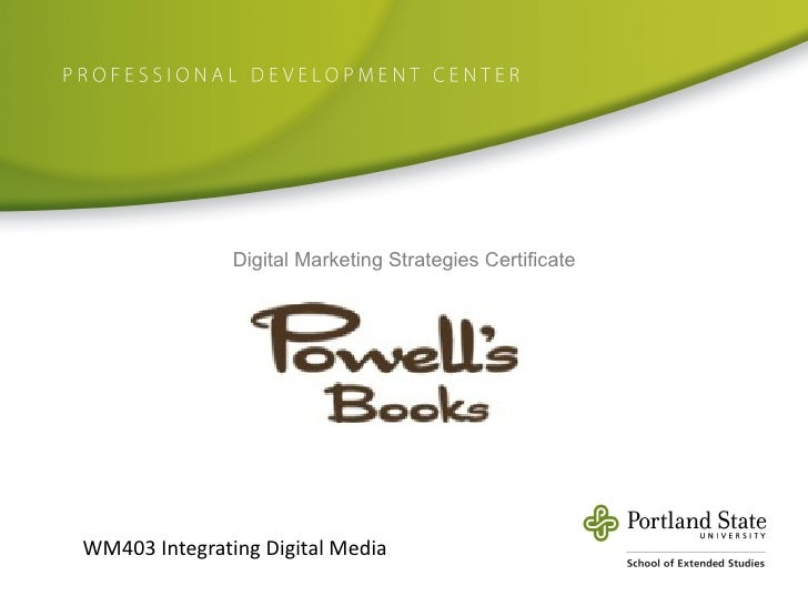 Digital Marketing Strategy for Powell's Books