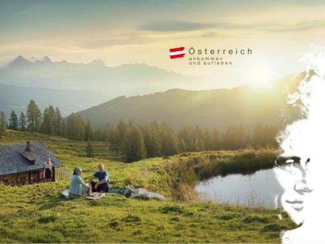 Sommerglücksmomente. Ankommen und aufleben. Die weltweite Marketingkampagne der Österreich Werbung in Tschechien 2014 Mich...
