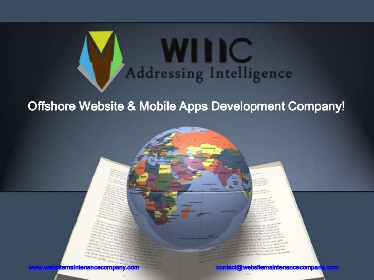Website Maintenance Company - Offshore Website Design and Development Company
