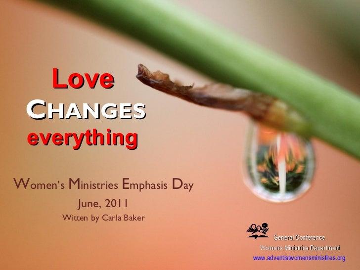 Women's Emphasis Day
