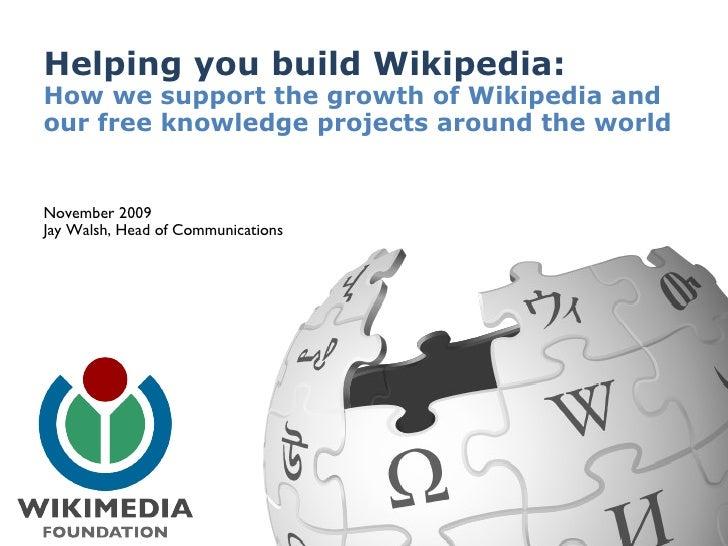 Wmf Present Wikiconference Japan Nov 2009