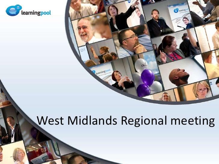 West Midlands Regional meeting<br />