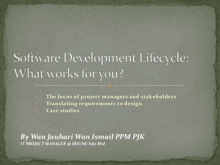 Software Development Lifecycle: What works for you?