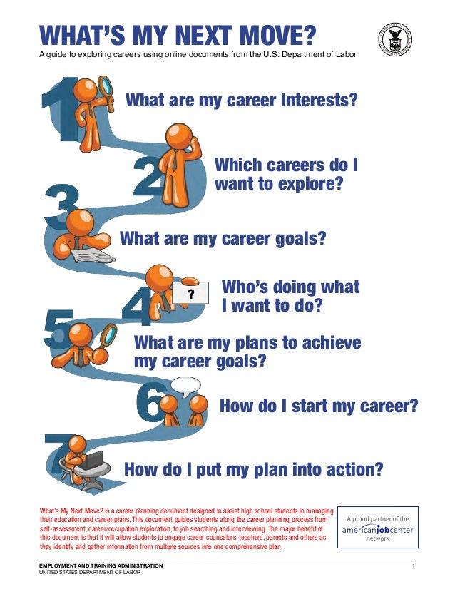 What's My Next Move - CareerOneStop