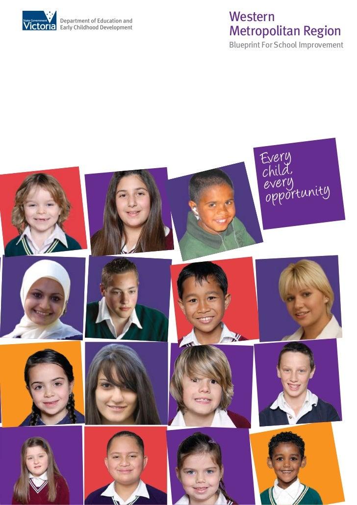 WesternMetropolitan RegionBlueprint For School Improvement