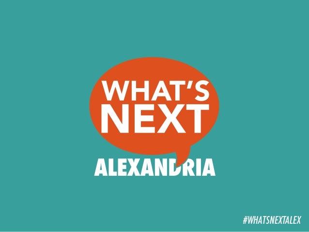 #WHATSNEXTALEX