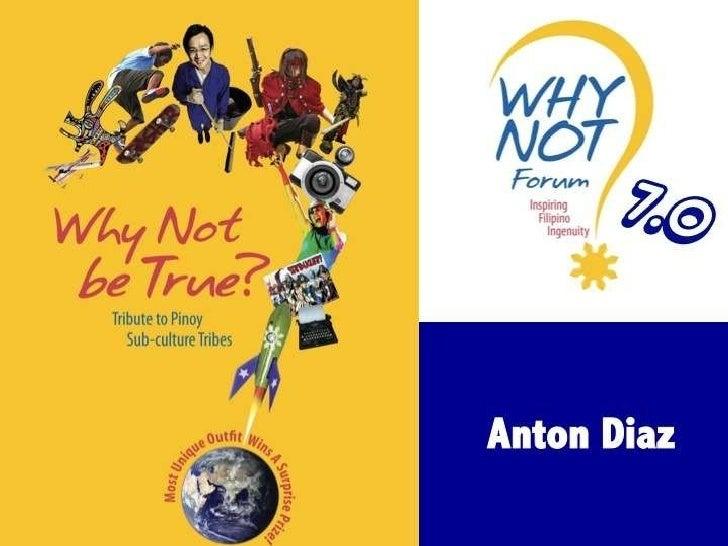 WhyNot06 Anton Diaz