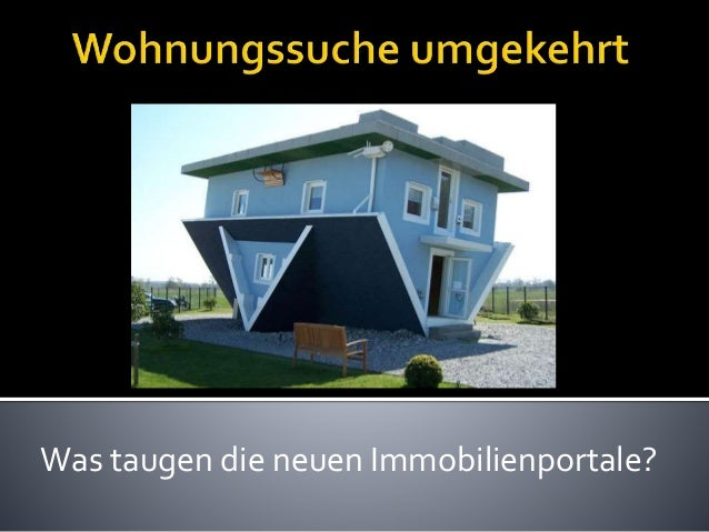 Was taugen die neuen Immobilienportale?