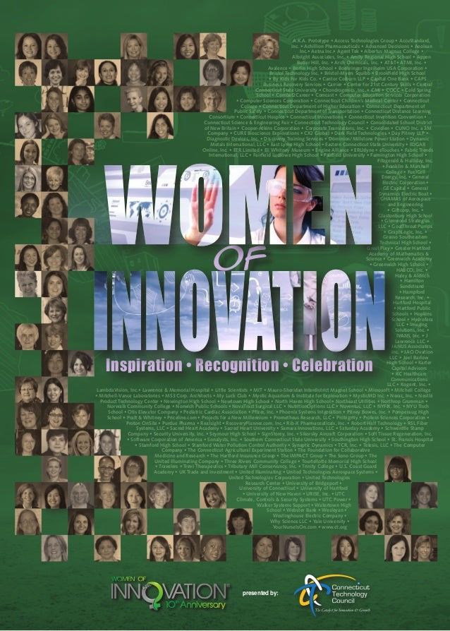 2014 Women of Innovation(r) presented by the Connecticut Technology Council