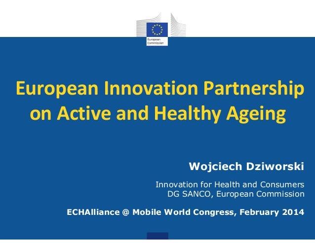 Wojciech Dziworski EU #MWC14 #mHealth