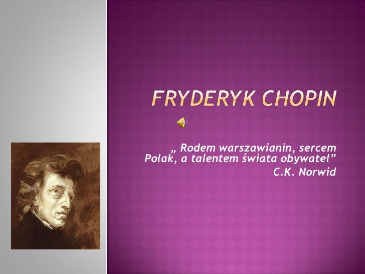 Chopin Wojtka