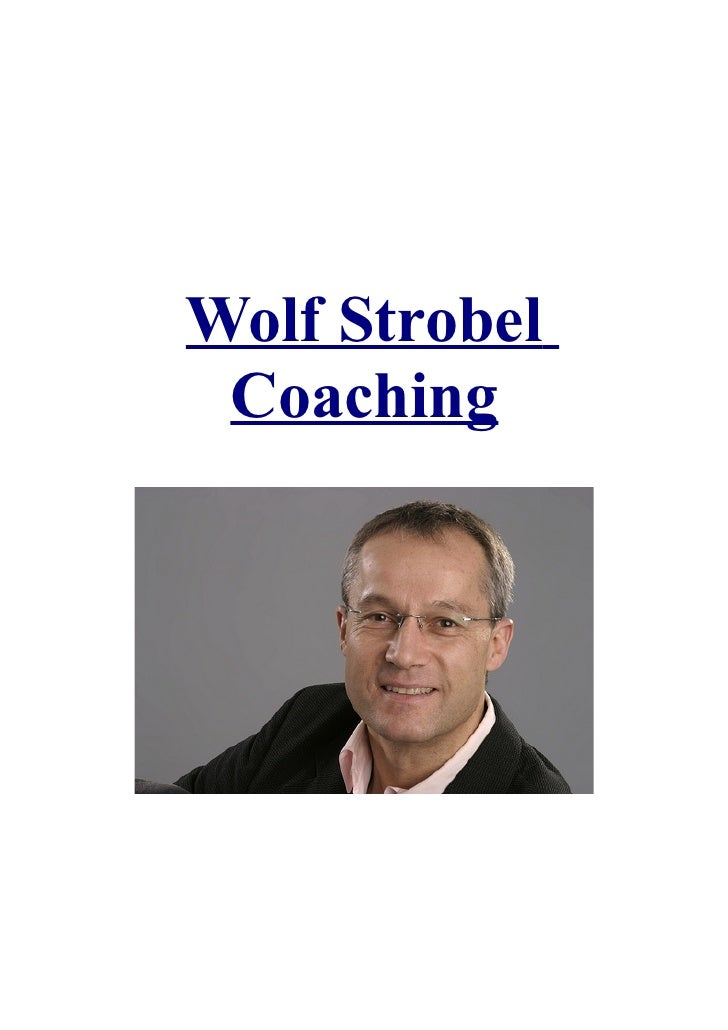 Wolf Strobel Coaching