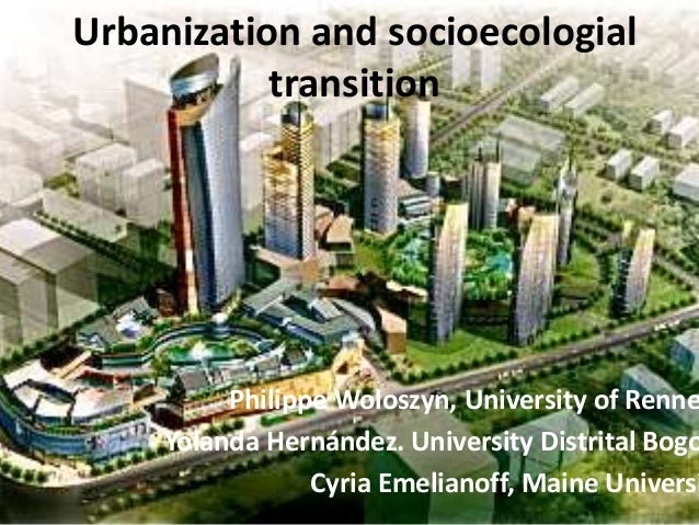ROSKO14 - Urbanization as a factor of environmental vulnerability; Climate change axiological deficits and resilience