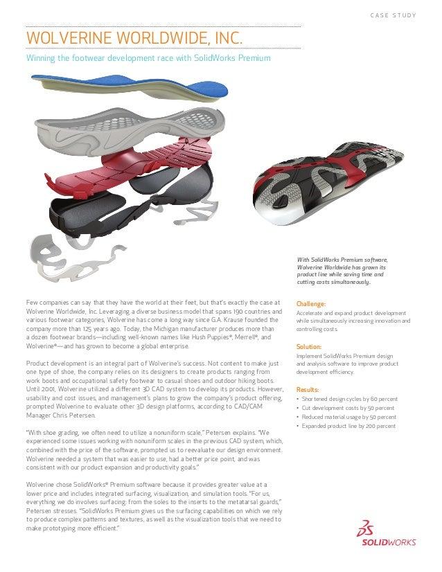 Winning the footwear development race with SolidWorks Premium