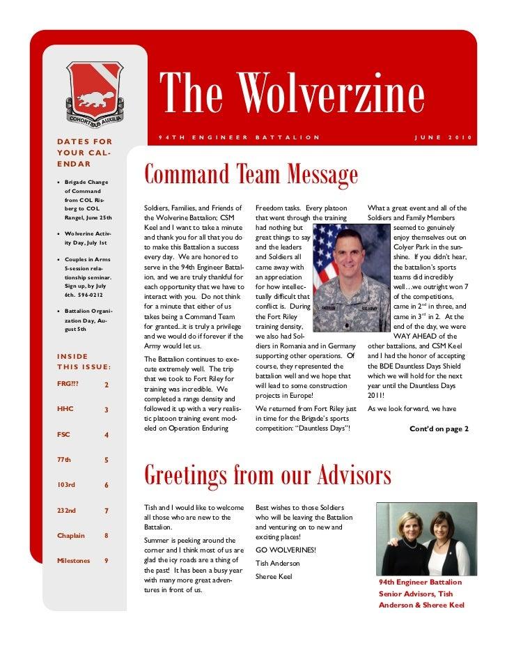 The Wolverzine (June 2010)