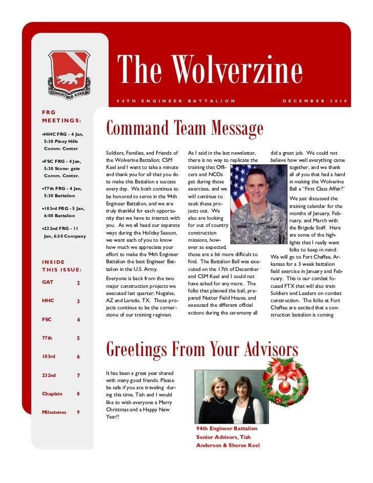 The Wolverzine (December 2010)