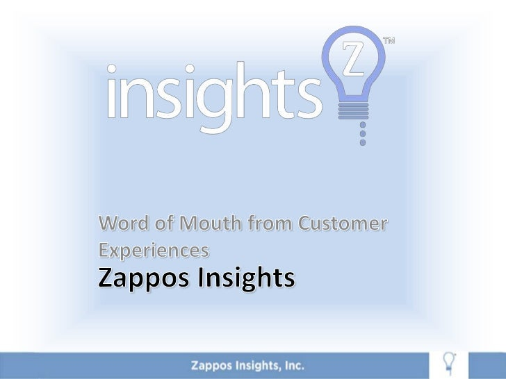 Word of Mouth From Customer Insights