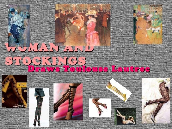 WOMAN AND STOCKINGS  Draws   ToulouseLautrec