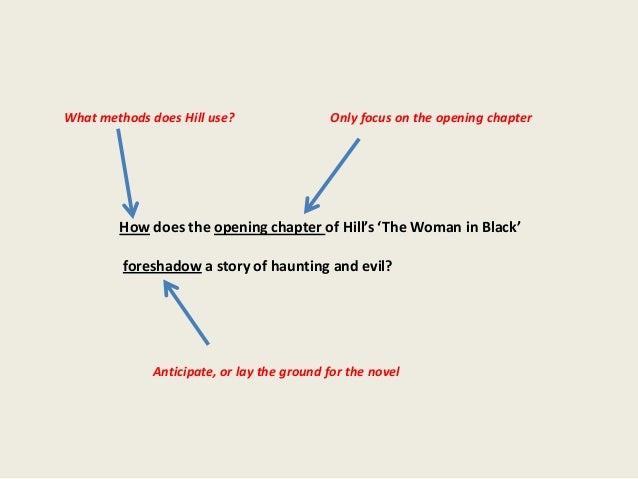 What methods does Hill use?                 Only focus on the opening chapter        How does the opening chapter of Hill'...