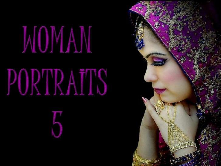 WOMAN<br />PORTRAITS<br />5<br />