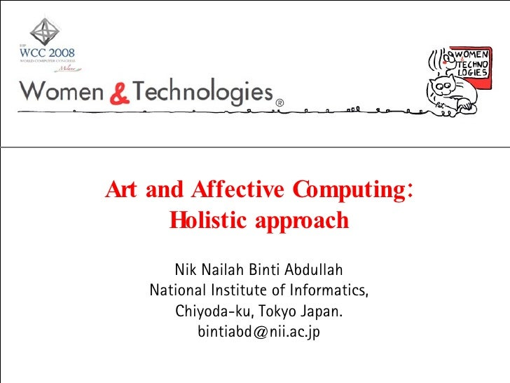 Art and Affective Computing: Holistic approach