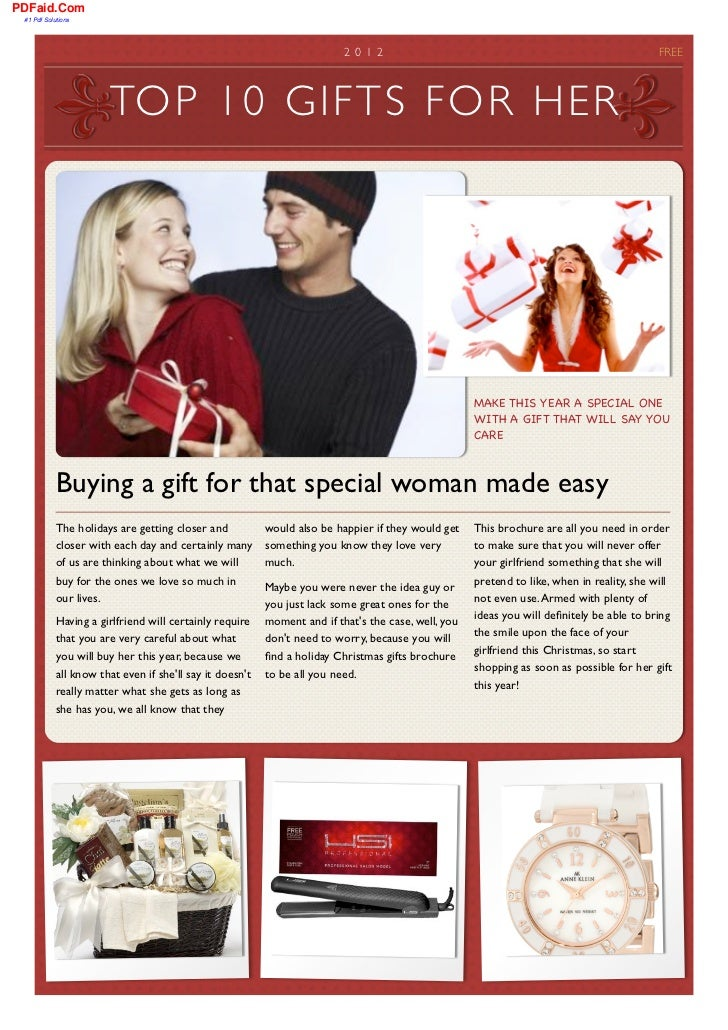 A Review of Gifts for Women at Christmas