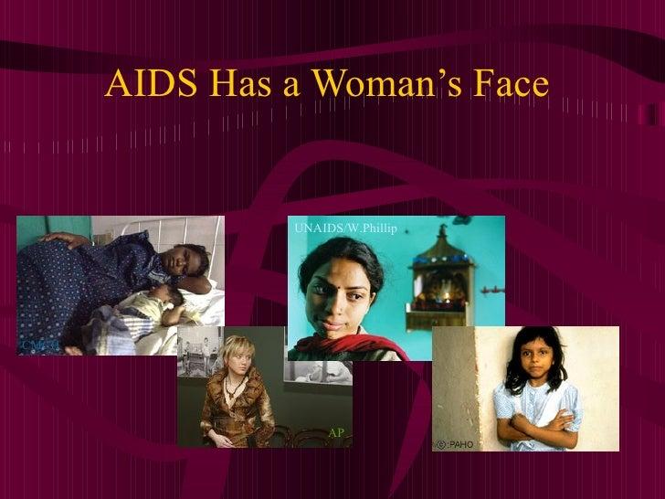 AIDS Has a Woman's Face UNAIDS/W.Phillip AP CMCH