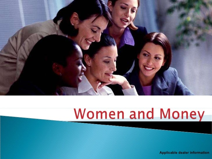 Financial Issues for Women