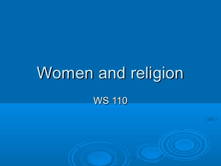 Women and religion