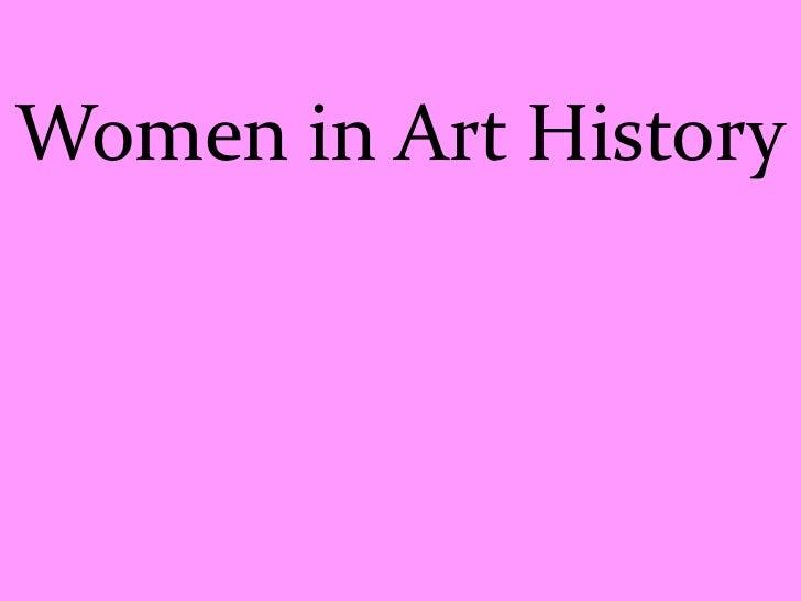 Women in Art History<br />