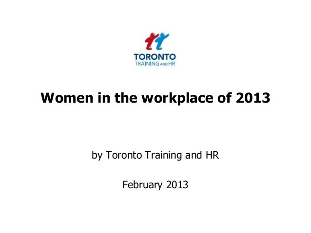 Women at work February 2013