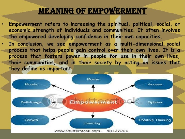 an essay on empowerment of women Please evaluate, comment, and improve my outline about women empowerment women empowerment outline: first of all start your essay.