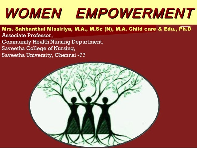 Essays on women empowerment