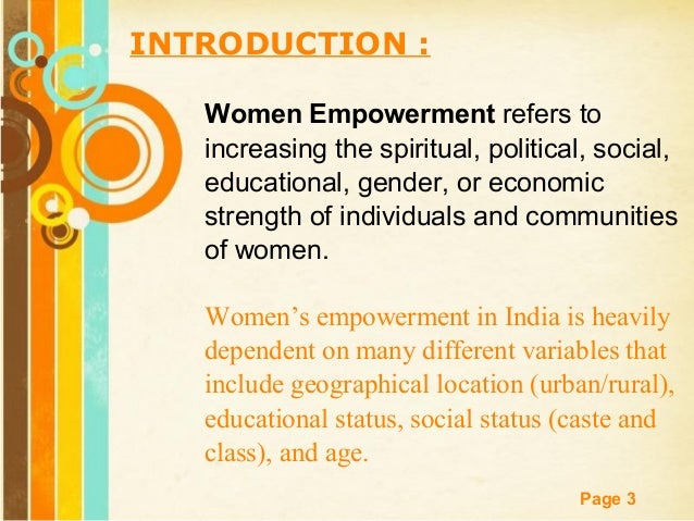 teacher empowerment-thesis A study on issues and challenges of women empowerment in india doi: 109790/487x-17411319 wwwiosrjournalsorg.