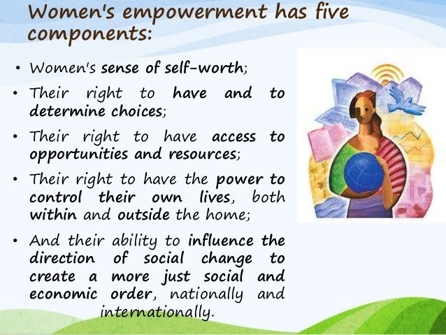 Social and economic empowerment