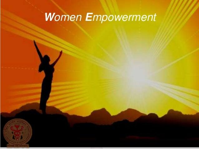 Simple WOMEN EMPOWERMENT AuthorSTREAM
