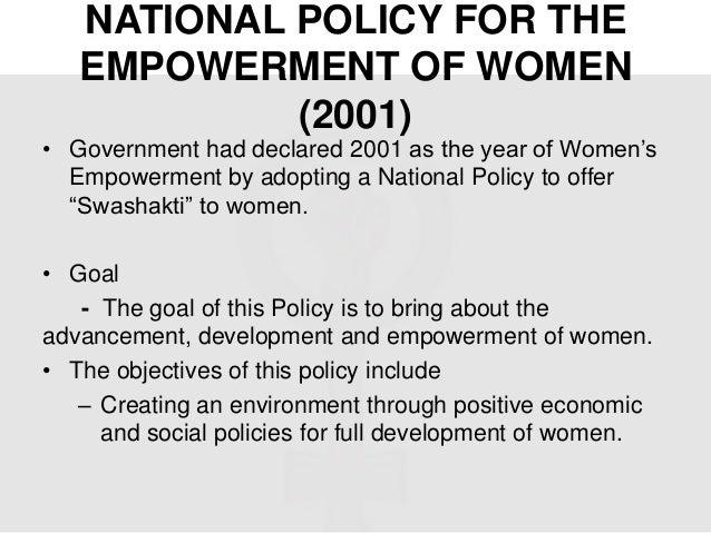 An essay on women empowerment
