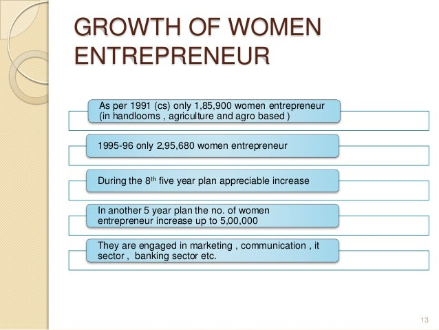 Women entrepreneurs in India - emerging issues and challenges