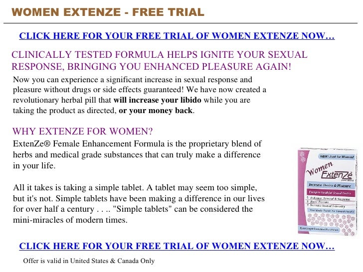 How Long Does Extenze Work For