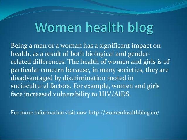 Women health blog