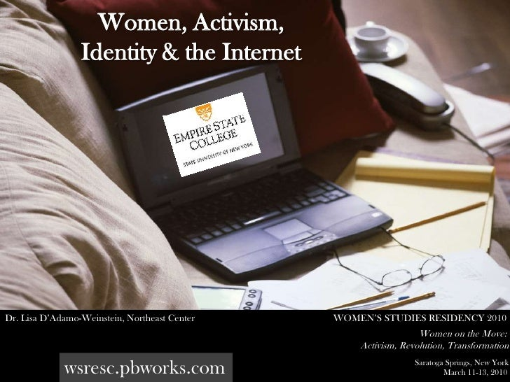 Women Identity Activism & the Internet