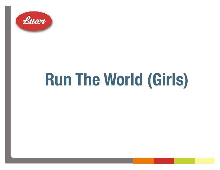 Run The World (Girls)