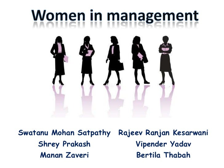 Women in management<br />
