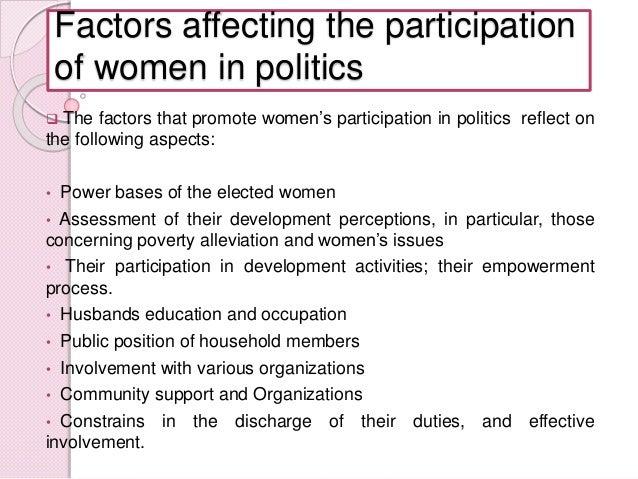 Women In Politics Essay